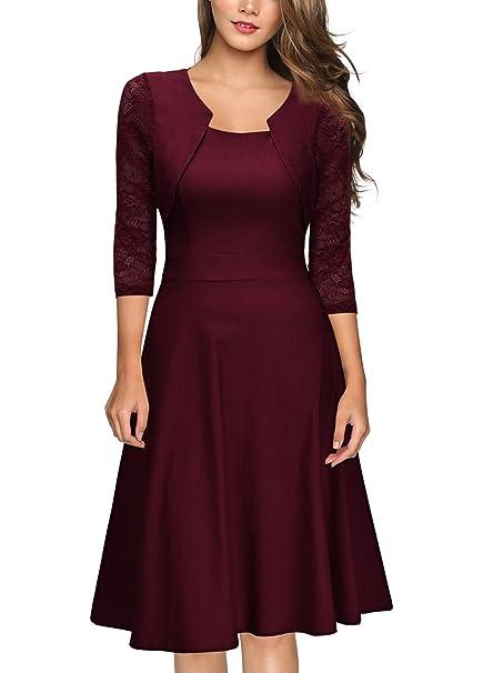 Amazon.com: Miusol - Vestido de baile y cóctel, con ...