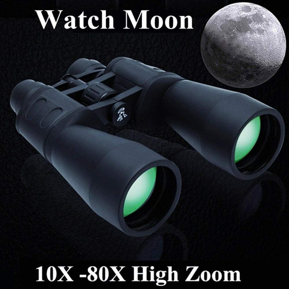 Binoculars Large Size high Zoom Telescope Outdoor Camping 10-380100 Standard Grade Anti-Fog HD for Hiking