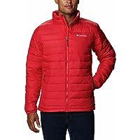 Columbia Chaqueta aislada WO1111 para hombre, chaqueta Powder Lite, poliéster