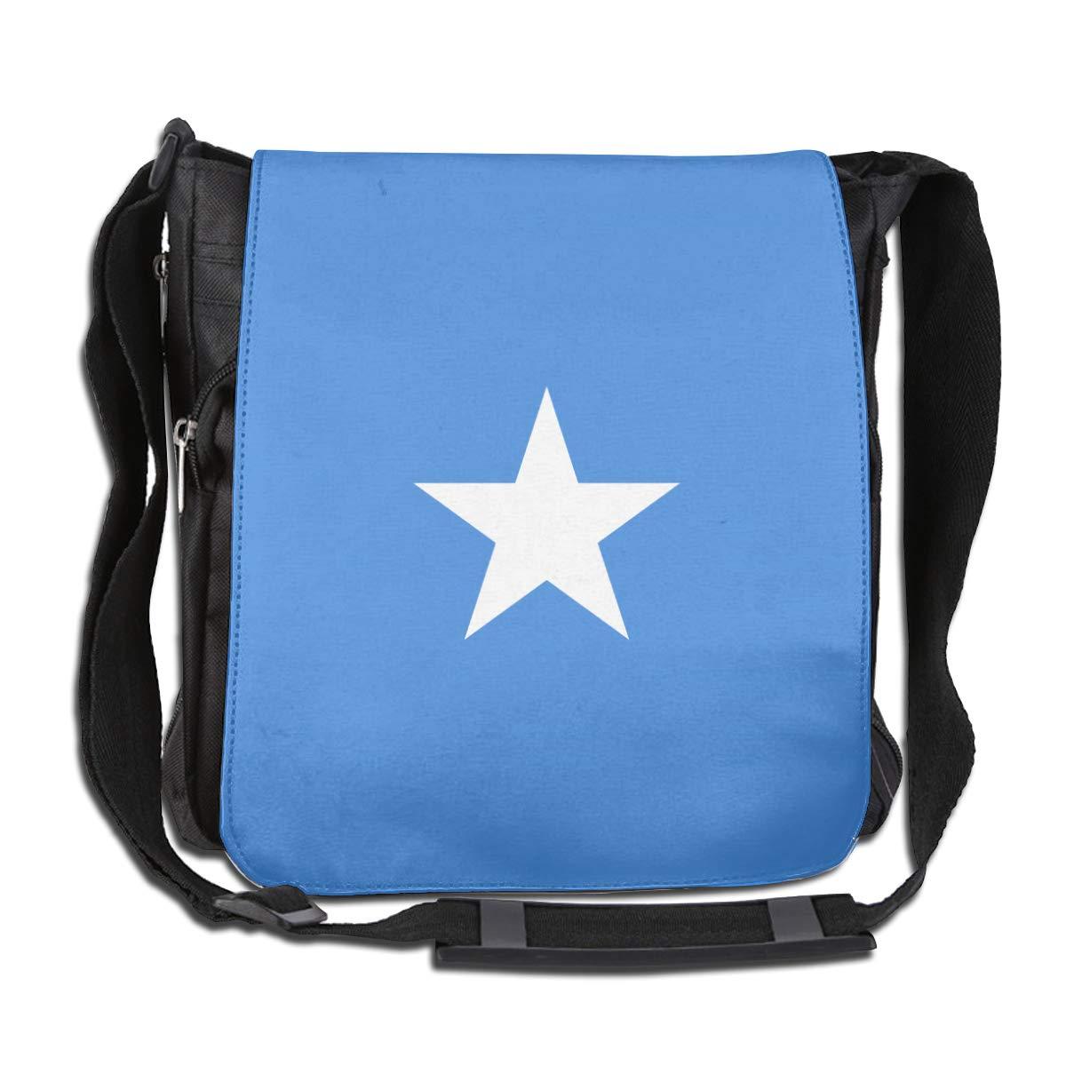 Somalia Flag Men Women Classic Satchel Messenger Bags Crossbody Sling Working Bag Travel Shoulder Bags Office//School