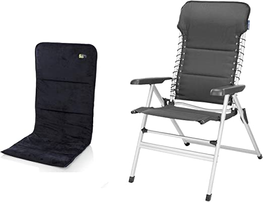 CAMPART Travel Estable aluminio camping Silla con asiento ...