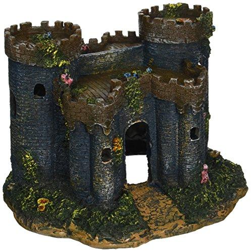 Penn Plax Medieval Castle of France Aquarium Decorative