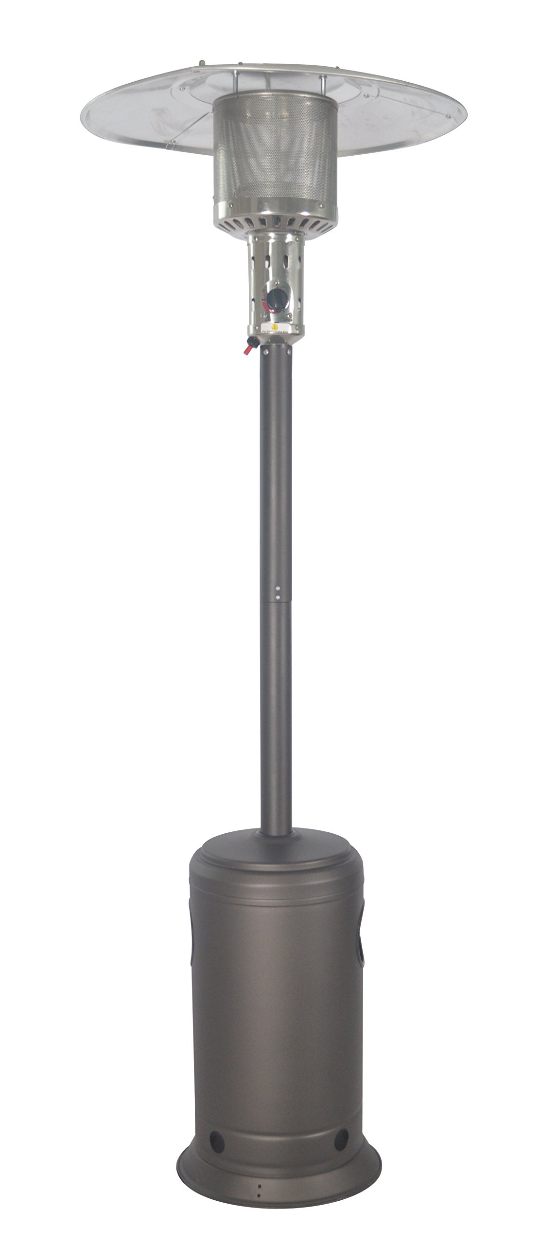 LEGACY HEATING CAPH-7-S CAPH-7Smocha Patio Heater, Hammered Black by LEGACY HEATING