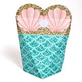 Baby : Let's Be Mermaids - Baby Shower or Birthday Party Favors - Gift Favor Boxes for Women & Girls - Set of 12