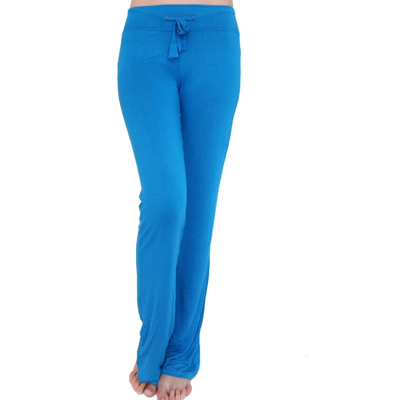 Dong Dian Women's Soft Slimming Gym Workout Yoga Bootleg Pants