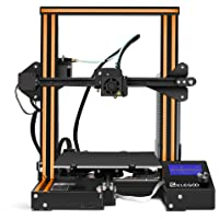 ELEGOO 3D Printer Ender-3 FDM 3D Printer with Resume Printing V-Slot Prusa i3 Frame, Suitable for Beginners and Enthusiasts