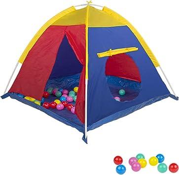 ColorBaby - Tienda de campaña, 50 bolas (42767): Amazon.es: Juguetes y juegos