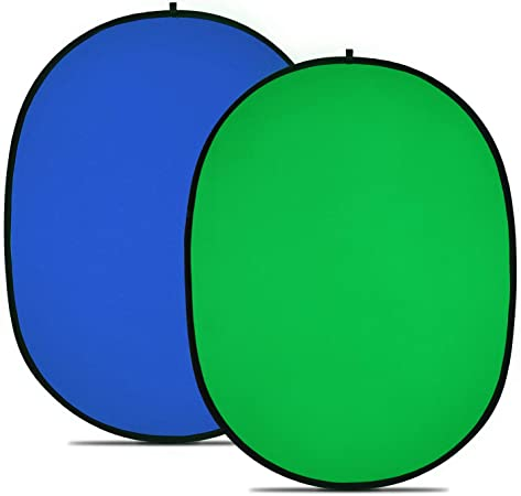 Todo para el streamer: Neewer Fondo Plegable Reversible Chromakey Green Chromakey Blue 150 * 200CM Chroma-Key Azul / Verde