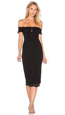 0c643d9ed16f Privacy Please Caperton Off The Shoulder Little Midi Dress Black at ...