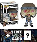 Brutus: Funko POP! x Call of Duty Vinyl Figure + 1 FREE Video Games Themed Trading Card Bundle [68233]