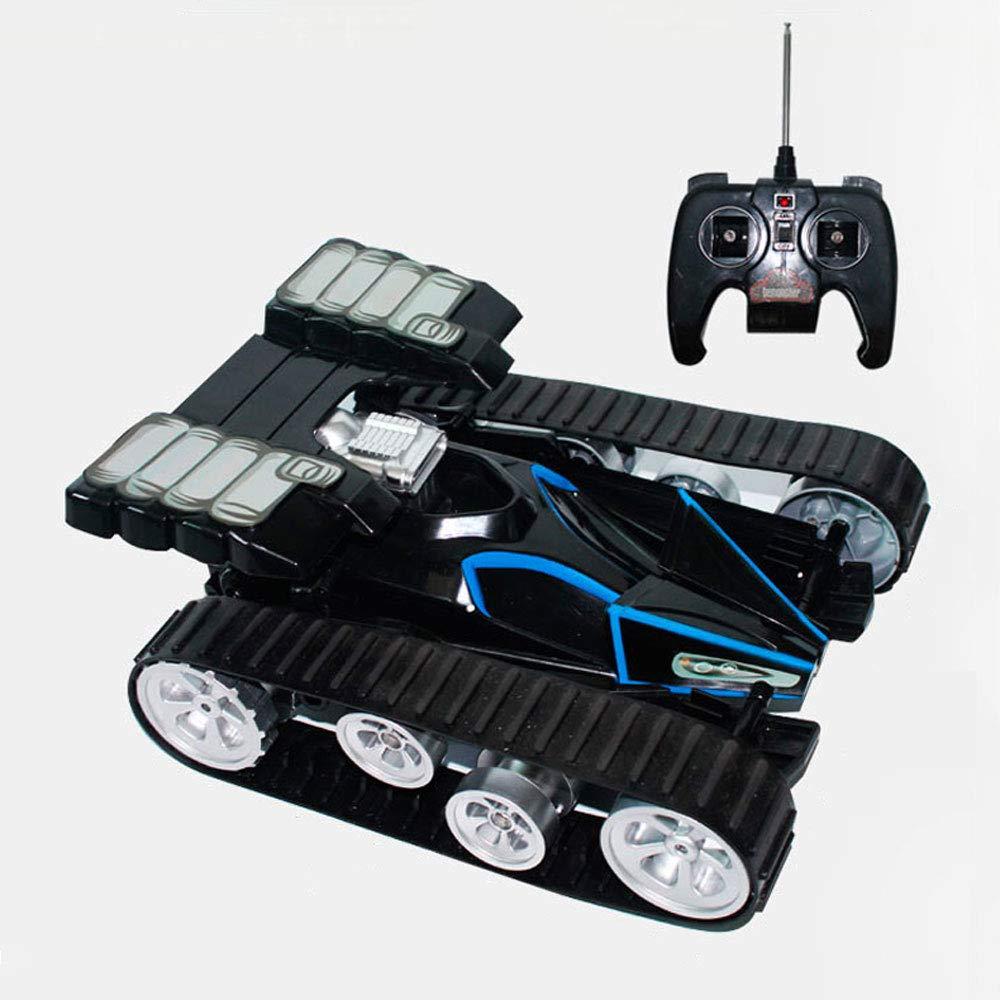 Mogicry Geländewagen Tank Fernbedienung Auto Allradantrieb 2,4 GHz Spielzeug Wireless Lade Beruf Kunststoff RC Auto Multifunktions Große Junge Kind Spielzeug SUV Geschenk Rennwagen für Kinder 3+