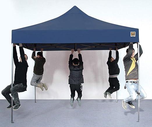Gorilla Gazebo 3 x 3 m Pop Up Impermeable Azul de Grado Comercial ...