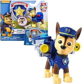 PAW PATROL Figuras de Juego Elegir   Patrulla Canina, Figura:Chase Major: Amazon.es: Juguetes y juegos