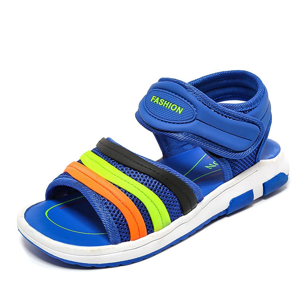 Toddler//Little Kid//Big Kid Boys Girls Leather Closed Toe Outdoor Sport Sandals Beach Flat Shoes