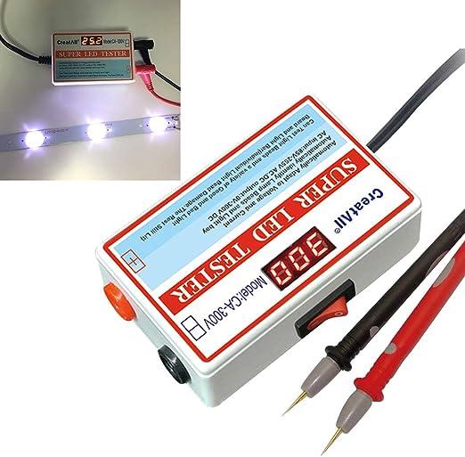 Cicony - Medidor digital LED para TV, retroiluminación y comprobador de cuentas de reparación (0-300 V): Amazon.es: Hogar
