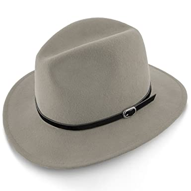 c4c4c56ed251e Amazon.com  Walrus Hats Legacy Wool Felt Fedora Hat - H7002  Clothing