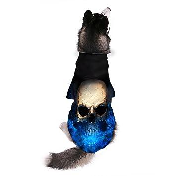 Ohana Pet - Sudadera con capucha para perro con arnés para perros y gatos pequeños,