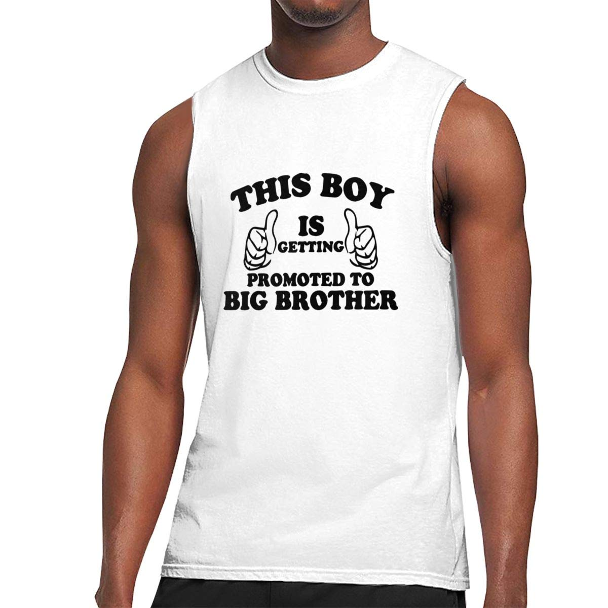 Seuriamin This Boy Is Getting Promoted To Big Brother Basic Sports Sleeveless Muscle Short