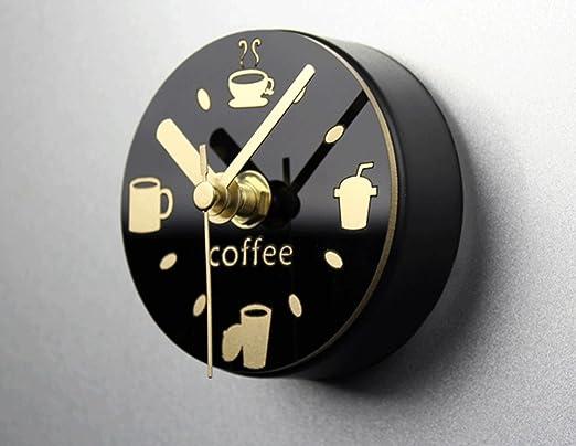 XUEYAN Café Bebida Cubiertos Ocio Nevera Reloj imán Creativo ...