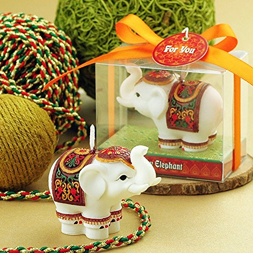 Granvela Creative Elephant Smokeless Candles,Cake Decorating and Party Supplies, Charming Gifts
