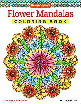 Amazoncom Flower Mandalas Coloring Book Coloring Is Fun Design