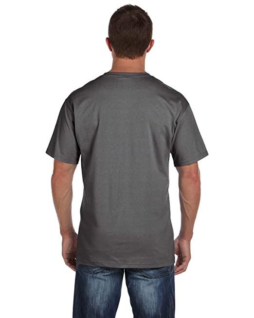 c15d589a1 Fruit of the Loom Men's 4-Pack Pocket Crew-Neck T-Shirt - Colors May Vary:  Amazon.ca: Clothing & Accessories