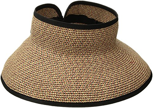 (San Diego Hat Co. Women's UBV002OSXBR, Mixed Black/red, One Size)