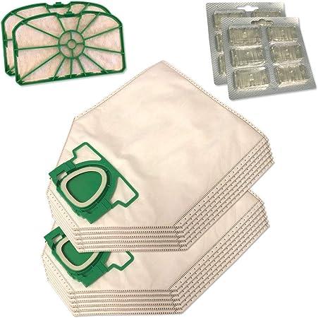 Staubbeutel24 Set de 12 Bolsas de aspiradora (microvellón) + 2 ...
