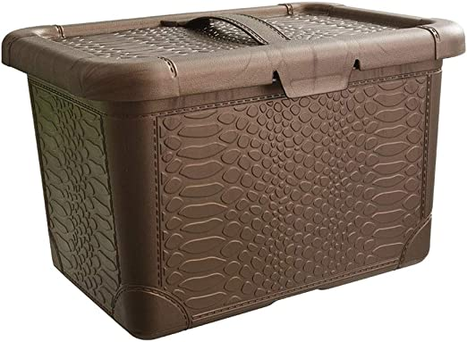Amazon.com: DaFei - Papelera de almacenamiento con tapa ...