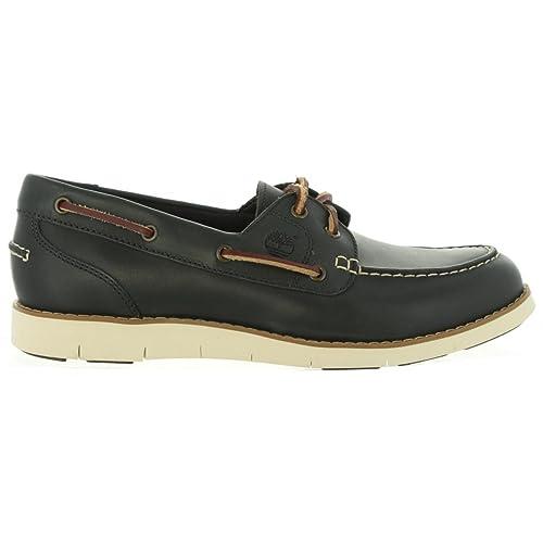 Nauticos de Mujer Timberland CA1GC6 Lakeville Navy: Amazon.es: Zapatos y complementos
