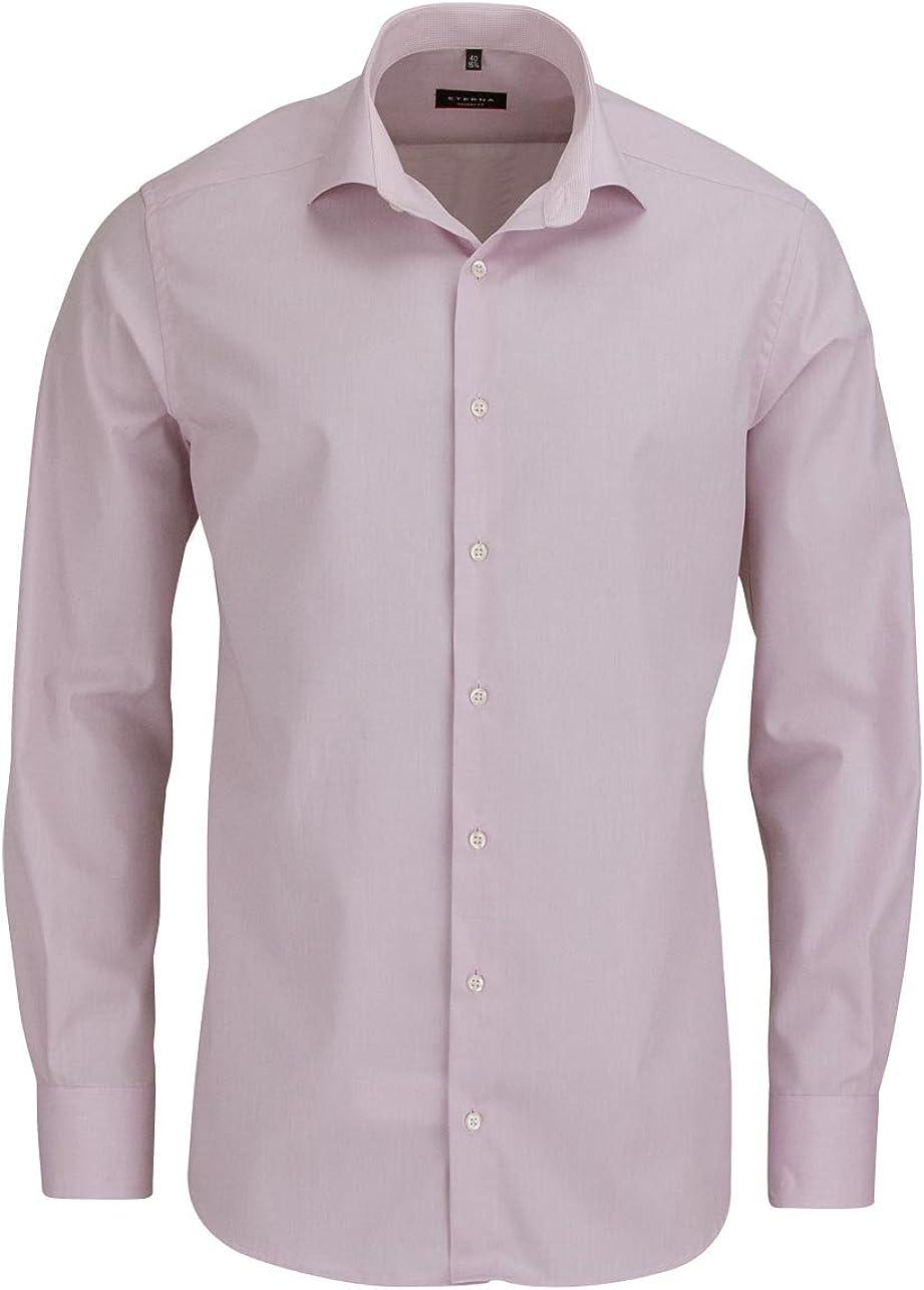 Eterna - Camisa de Manga Larga, Color Rosa: Amazon.es: Ropa y accesorios