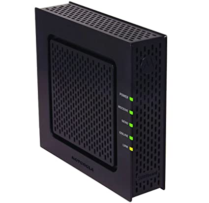 amazon com motorola sb6120 surfboard docsis 3 0 extreme broadband rh amazon com motorola surfboard sb6120 cable modem manual Motorola SURFboard SB6120 Configuration