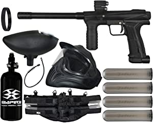 Action Village Planet Eclipse EMEK 100 Paintball Gun Legendary Package Kit