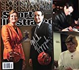 "Pat Summitt & Mike Krzyzewski Signed Autographed Complete ""Sports Illustrated"" Magazine w/ Signing Photos"