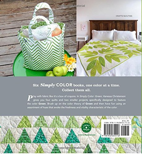 simply color green a crayon box for quilters vanessa christenson 9781940655116 amazoncom books - Books About The Color Green
