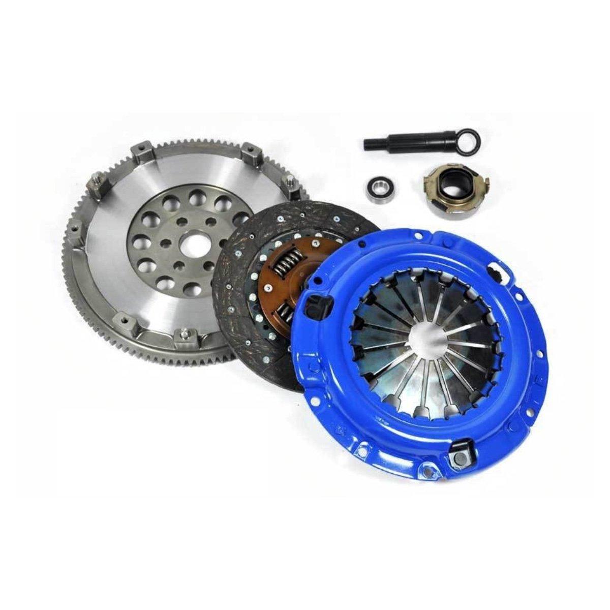 EFT etapa 1 Kit de embrague + cromo-molibdeno volante Mazda Miata 1.6L 1.8L Mazdaspeed Turbo: Amazon.es: Coche y moto