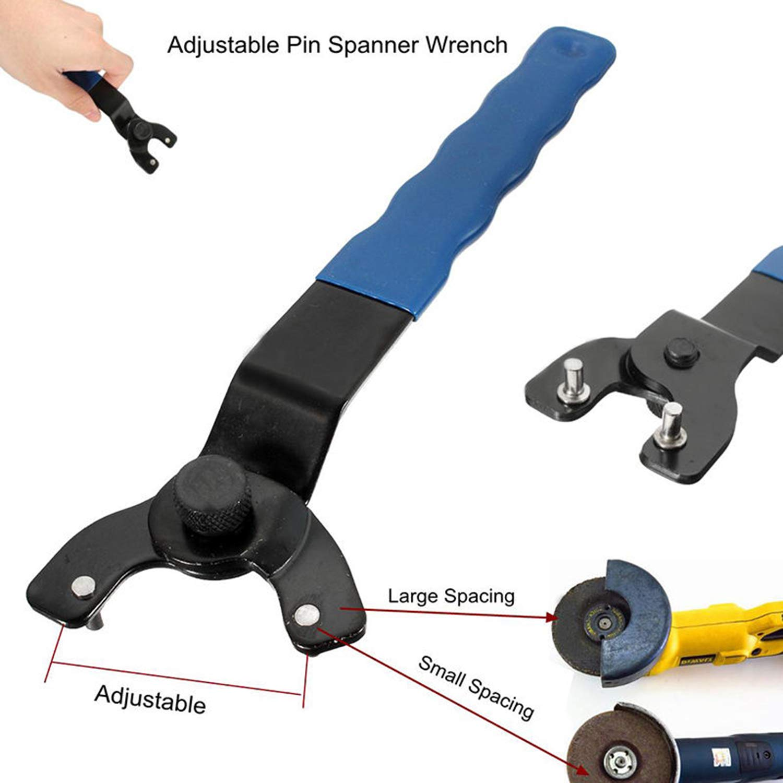 LONYE SEWA20 Adjustable Lock-Nut Grinder Pin Wrench for Bosch Dewalt Makita Angle Grinder 10-30mm