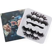 Mode lång dramatisk pincett tjock 25 mm lösögonfransar lösögonfransar sminkverktyg 3D ögonfransar