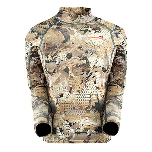 Micro Fleece Turtleneck (SITKA Gear Youth Core Mid Weight Mock Optifade Waterfowl Youth Small,Marsh)