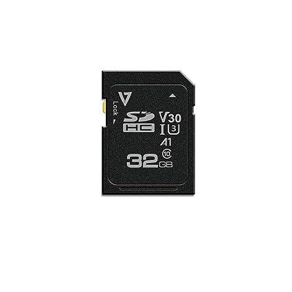 V7 Tarjeta SDHC UHS-3 V30 A1 de 32 GB - Tarjeta de Memoria ...