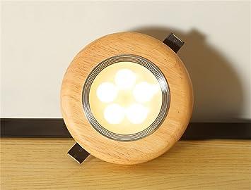 creative lighting fixtures. Fine Lighting Denuo Massivholz LED Downlight Wohnzimmer Flur Deckenleuchte Spotlight Creative  Lighting Fixtures 12cm 5w Licht Warmwei To E