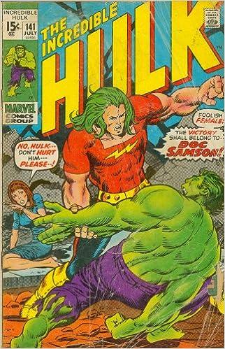 The Incredible Hulk #141 His Name is    Samson!: Amazon com