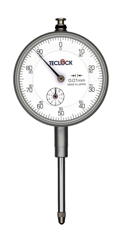 テクロック ダイヤルゲージ KM131(測定範囲30mm目量0.01mm)