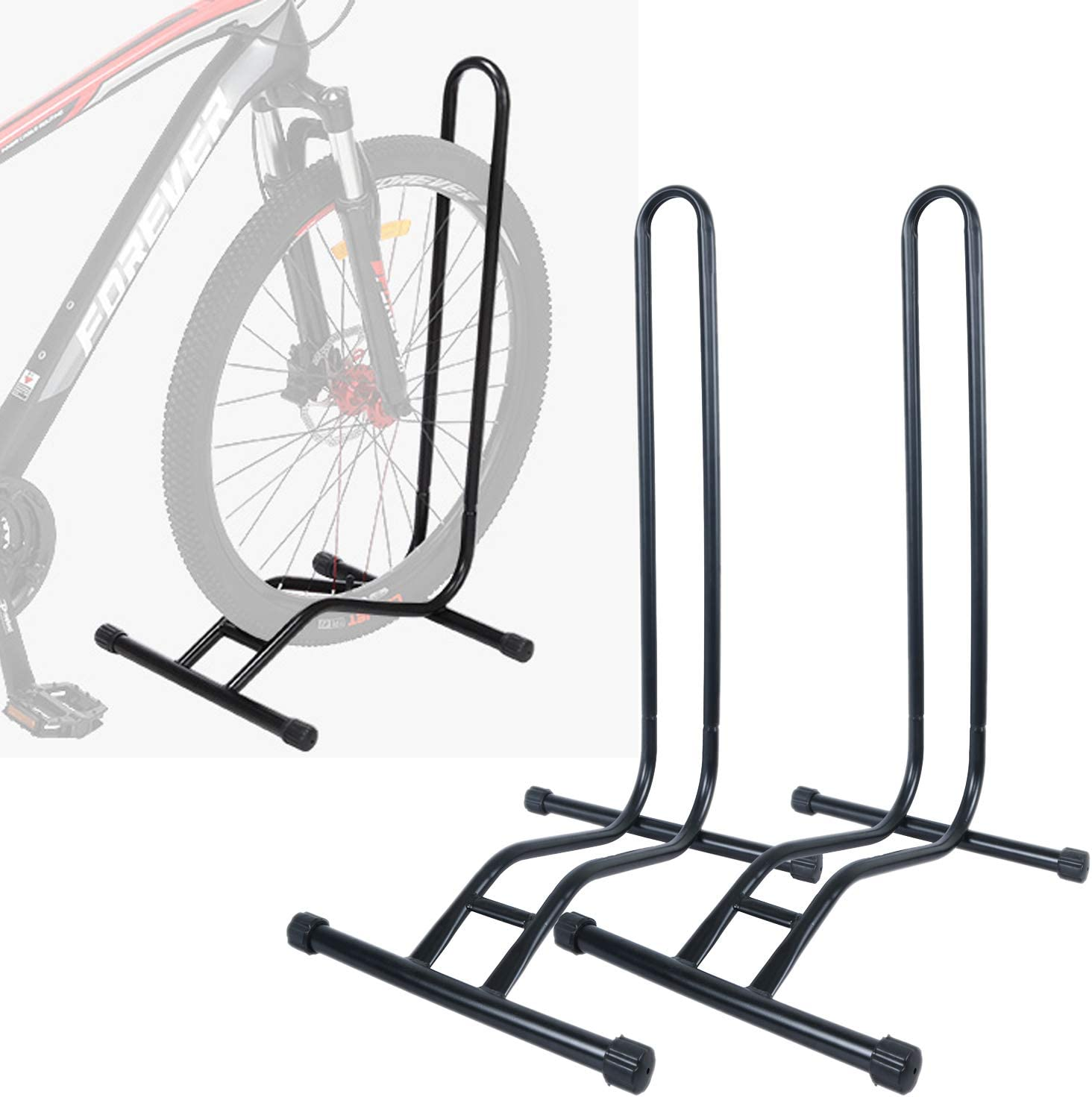 Bike Stand 2pcs Large Road Bicycle Storage Hooks Wall Mount Holder Hangers