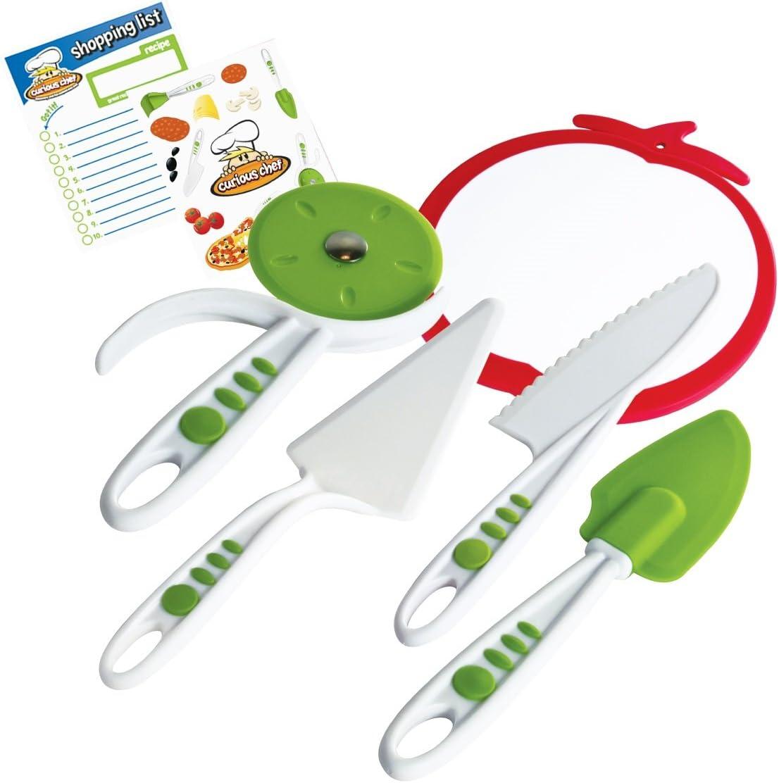 Curious Chef Children's 5-Piece Pizza Kit