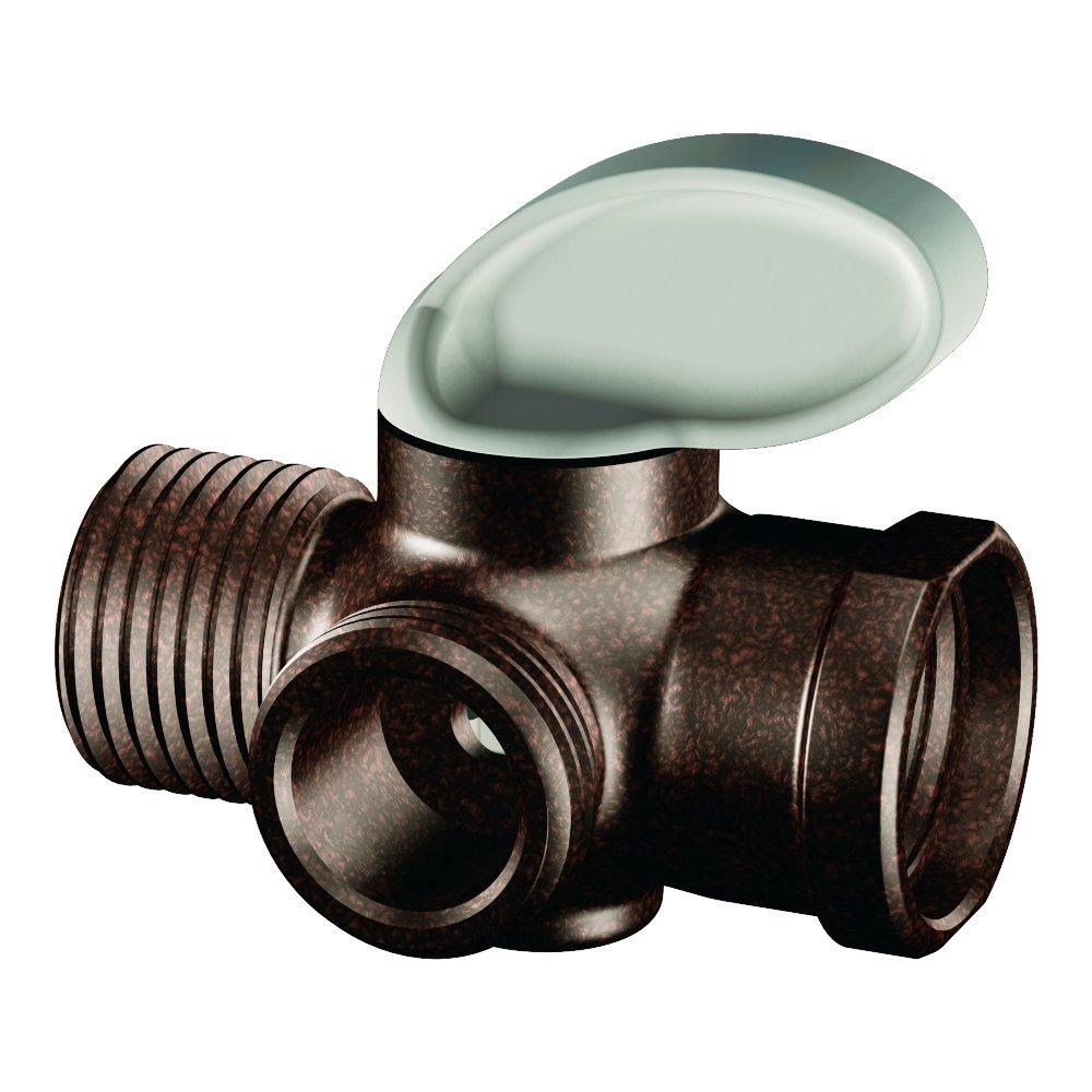 Moen A720ORB Shower Arm Diverter, Oil Rubbed Bronze