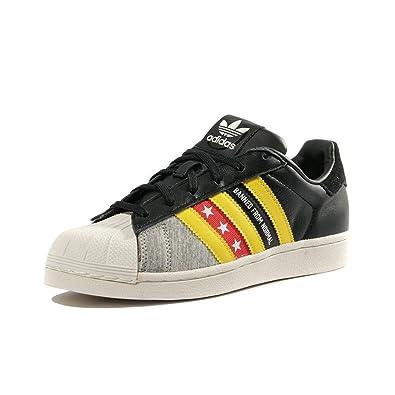 adidas Schuhe Originals Superstar Ro W Schwarz: