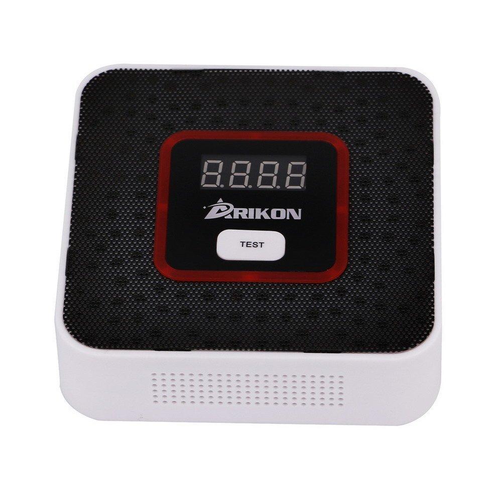 ARIKON Plug-In Combustible Gas Detector Alarm Sensor with Voice Warning,Digital Display by ARIKON