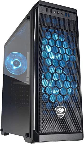 Cougar MX350 MESH No Power Supply ATX Mid Tower w// Window