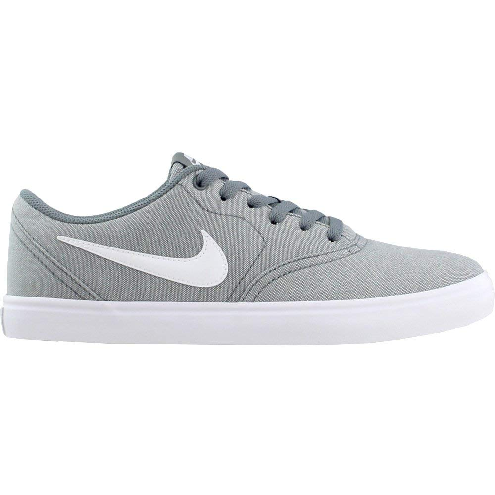 Nike Men's SB Check Solar Canvas, Sneakers, Grey/White, 10 M US by Nike (Image #2)